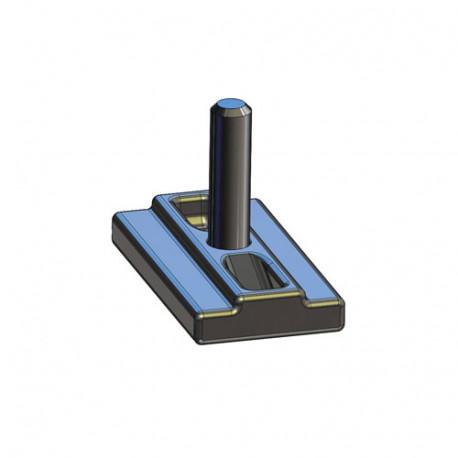 Platina rectangular