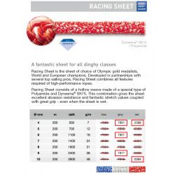 Cabo Racing Sheet