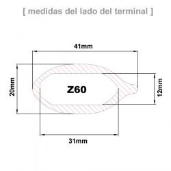 Cruceta Z60 conificada