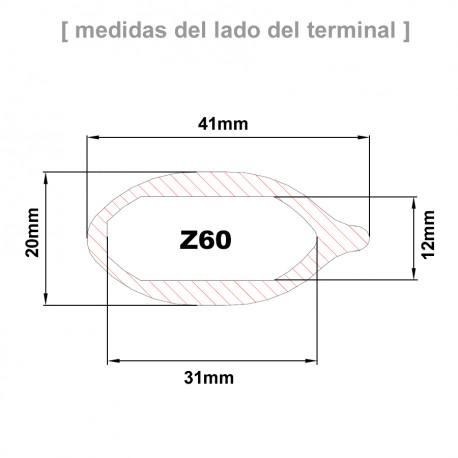 ZSpars - Cruceta Z60 conificada