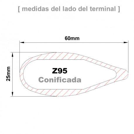 ZSpars - Cruceta Z95R conificada