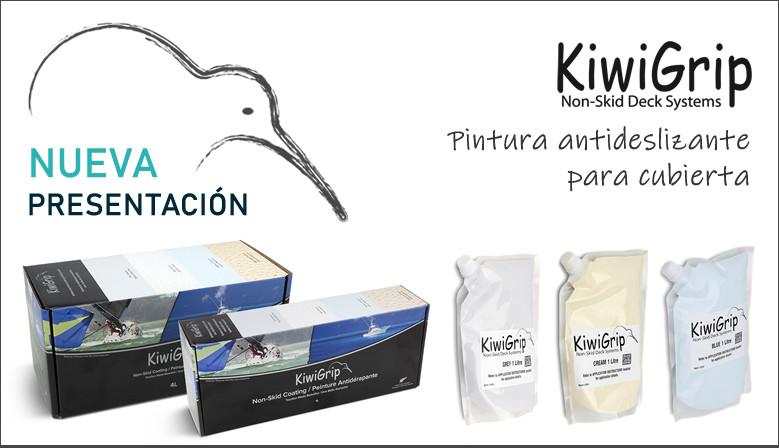 Kiwigrip, pintura antideslizante para cubiertas